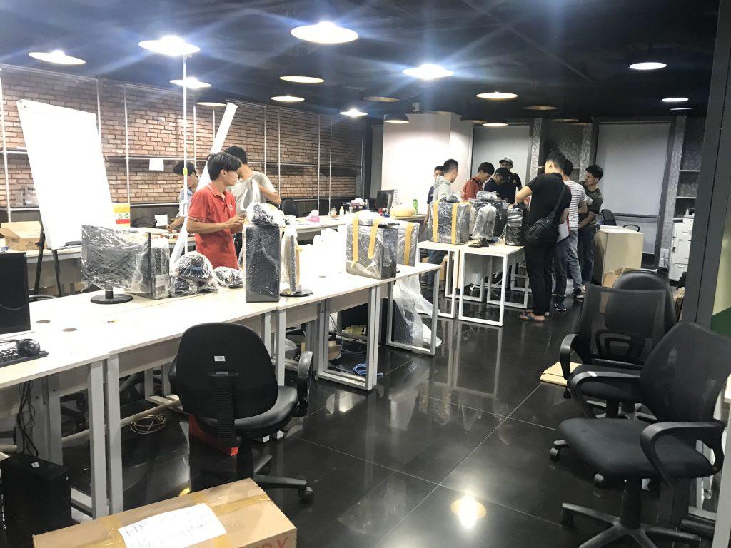 Chuyển văn phòng Thành Hưng
